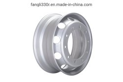 Haute qualité 19.5X6.75 19*6.00 Rim disque, Disque de roue, roue en acier du chariot