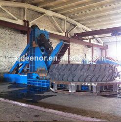Bonne qualité à haute efficacité de la vente de pneus à bas prix des pneus de caoutchouc déchiquetés Machine