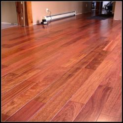Qualität fester Jatoba hölzerner Fußboden