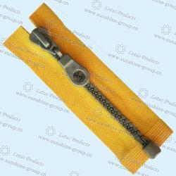 Оптовая торговля высокого качества 7# Custom металлические молнии для загрузки 003