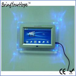Voyants LED acrylique Cadre photo numérique 7 pouces (XH-DPF-070G)