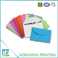 Busta per biglietti d'auguri personalizzati con logo stampato in carta per design carino