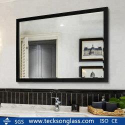 3-8 mm de cristal de espejo de plata de cristal decorado para la construcción de vidrio