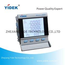 V de puissance numérique électronique Yidek suis Kw Hz PF mètre