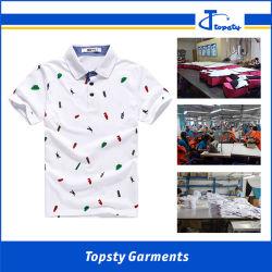 Het Overhemd van het Polo van de Manier van de goede Kwaliteit, de Afgedrukte Overhemden van het Polo van Chilren, de Overhemden van het Polo van het Jonge geitje
