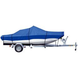 頑丈なボートカバー600dは海洋の等級ポリエステルキャンバスのTrailerableのボートカバーファブリックを防水する