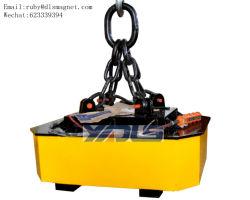 강철 테이프 Rolls와 강철봉 전기 기중기 드는 자석 장비