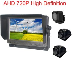720p Reserve Rearview Camera 7inch Ahd voor Auto