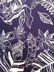 55%Viscose gesponnenes gedrucktes Gewebe 45%Rayon für Kleid