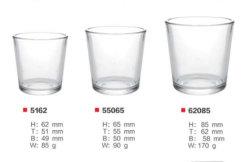 Высокое качество очистить стеклянный сосуд для воды/Wiskey /напиток оптовая посуда
