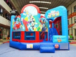 Mickey gonflable Combo gonflable Bouncer (CHB197)