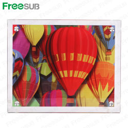 Freesub calor vidrio recubierto de sublimación Prensa Photo Frame (BL-09).