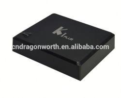 Heet! 4k 2k Mali 450 TV Box Full HD Media Player 1080P van TV Box Android van Core van de Vierling van TV Box K1 Plus Amlogic van TV Box K1 Plus van Core Android van de Vierling van penta-Core GPU S908 S905