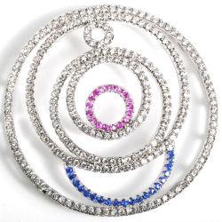 De in het groot Toebehoren van de Aansluting van CZ van het Metaal voor de Halsband DIY van de Parel van Juwelen