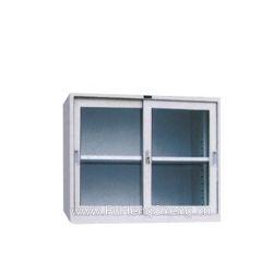 Faites glisser la porte en verre Cabinet petit cabinet Cabinet court
