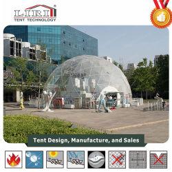 Tente dôme transparente géodésique extérieure utilisée pour les événements en extérieur