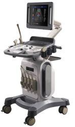 De Ultrasone klank van Doppler van de Kleur van het karretje 4D met Schakelaar 4 zo Goed zoals Ultrasone klank Mindray (MSLCU30)