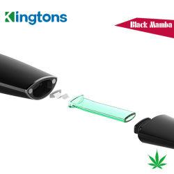 Venda Quente Mini Ecig Kingtons Blk Mamba caneta de ervas secas com serviço de OEM