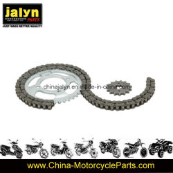 Jalyn Motorcycle Parts Motorcycle Sprocket and Chain for Italika Forza 125 38t/15t, 428X108L
