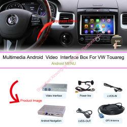 """Multimedia de navegación para automóviles de VW Volkswagen Touareg 6.5"""" del sistema Android cámara de vídeo y coches"""