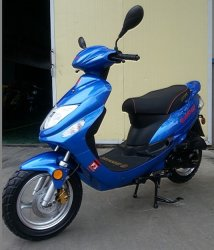 San You 50cc Benzin Roller (SY50QT-6)
