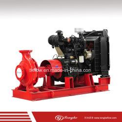 Certificado pela UL 500gpm 750gpm 1500gpm Motor diesel de combate a incêndio da bomba de água para fins industriais e edifícios civis