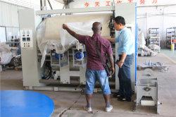 Usa poderoso compactador tubulares Maquinaria Textil // Máquina de acabado textil
