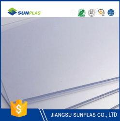 투명한 2mm PVC 플라스틱 장 문 위원회