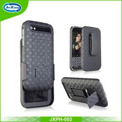 Abraçadeira de plástico de protecção integral cobertura de telefone para Blackberry Q20