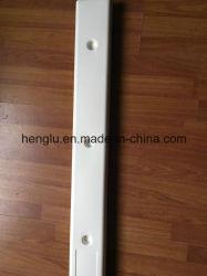 Recta de PVC blanco de la base de paragolpes