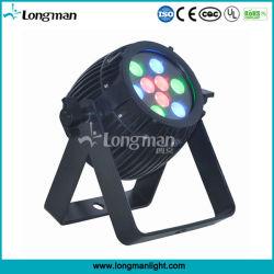 Bon mélange de couleurs 27W à LED RVB DMX paysage extérieur lumière