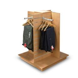 4 طرق [سلتولّ] [ديسبلي رك] خشبيّة/أرضية حامل قفص [ديسبلي رك] لأنّ لباس داخليّ/لباس/[جن]/حمولة ظهريّة معرض ([مدس-033])