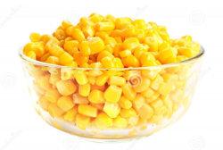 Las conservas de alta calidad de granos de maíz dulce procedente de China