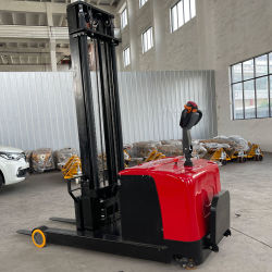 리치 트럭 전기 스태커 1톤 2톤 최대 전기 스태커 인양 1m~4m 스탠딩/워크리 드라이브 풀 프리 마스트