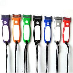 LEIDENE van pvc van de multi-Kleuren van Customzied van Linli de Promotie Vlakke Toorts van het Flitslicht, MiniFlitslicht