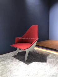 New Arrival modern Fabric Cushion Fiberglass Shell Chair for Living Kamer