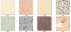 حجر صناعي من مادة خضراء صمم الحجر للتجانب/سطح الموازنة