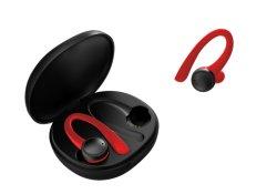 Auriculares inalámbricos Sweatproof ejecutado a través de auriculares de botón con el gancho de oreja