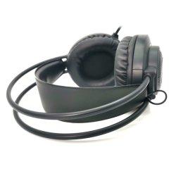 LED 무선 헤드폰 무테아세트 스테레오 접이식 스포츠 이어폰 마이크 핸즈프리 MP3 플레이어 드롭배송