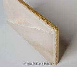 熱い販売9.52カラーPVB自然なヒスイの金属の網の薄板にされたガラス