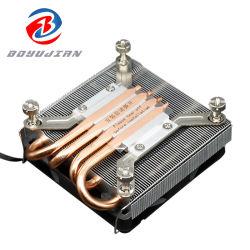 Mmetalfish Ultra Thin Z39itx Vier-Wärme-Rohr Ultra Thin Ryzen Kühler Mini Chassis Host PWM Temperaturregelung