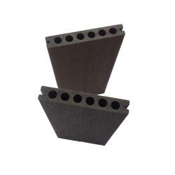 En el exterior de plástico mayorista de madera maciza y hueco WPC Deckings compuesto 100% compuesto de PVC revestimientos de pisos