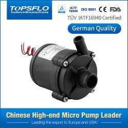 Topsflo 12V excelente Marcação, RoHS Silent Cool Água Quente Ar Condicionado Bomba colchão