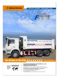 المعدات الثقيلة سعة 20-30 طن متري / شاحنة تفريغ شاحنة Shacman F3000 سعة 63 طن