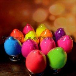 プラスチック、印刷、インク、繊維粘土着色用の粉末ネオン光彩色素