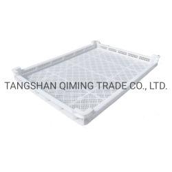 الصينية مصنّع HDPE علبة التجفيف بجل ناعم التغليف البلاستيك المكسو بالمكرونة صينيات التجفيف
