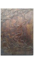 ペーパー彫刻およびラッカー絵画