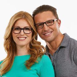 Для женщин и один блок считывания очки - мужчин и женщин увеличительное читателей. 5X - 2,5X - квадратной рамой