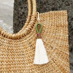 Handmade 씨는 선전용 선물을%s 열쇠 고리 술 공상 의복 부속품 형식을 구슬로 장식한다