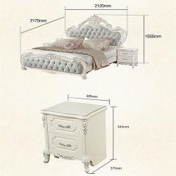 Modern European Princess Soft Bed 0181-3